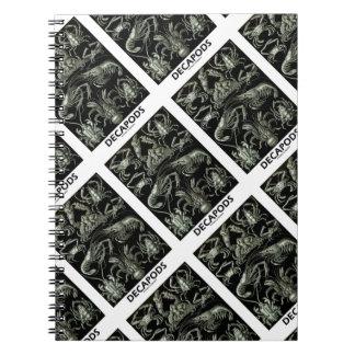 Decapods Ernest Haeckel Artforms Of Nature Notebook