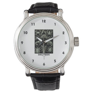 Decapods Ernest Haeckel Artforms Of Nature Wristwatch