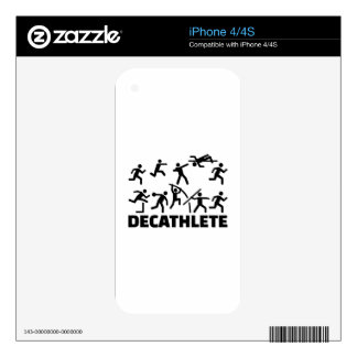 Decathlete Skin For iPhone 4