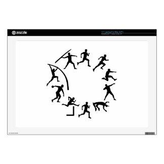 "Decathlon 17"" Laptop Decal"