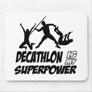 Decathlon sports designs mouse pad