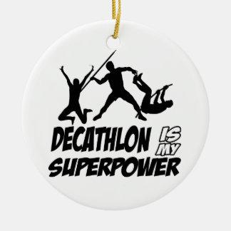Decathlon sports designs christmas ornaments