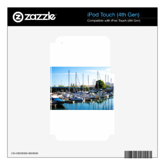Decatur Alabama Boat Harbor iPod Touch 4G Skin