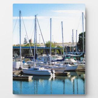 Decatur Alabama Boat Harbor Plaque