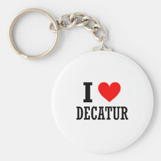 Decatur, alabama keychain