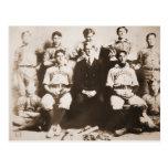 Decatur Baseball Team Post Card