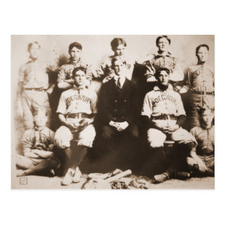 Decatur Baseball Team Postcard