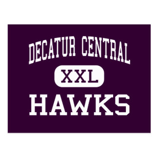 Decatur Central - Hawks - High - Indianapolis Postcard