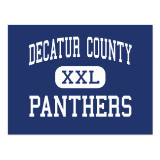 Decatur County Panthers Middle Parsons Postcard
