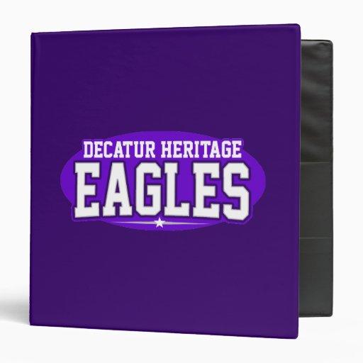 Decatur Heritage Christian Academy; Eagles Vinyl Binder