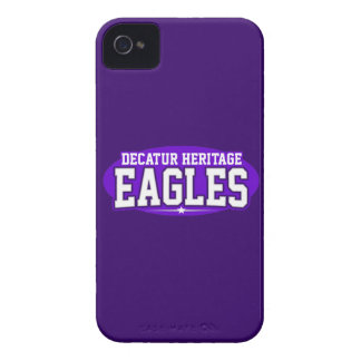 Decatur Heritage Christian Academy; Eagles Case-Mate iPhone 4 Cases