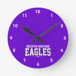 Decatur Heritage Christian Academy; Eagles Wall Clocks