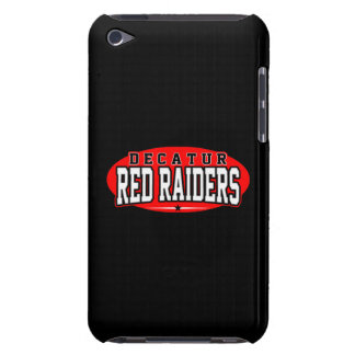 Decatur High School; Red Raiders iPod Touch Case