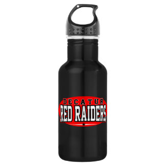 Decatur High School; Red Raiders Water Bottle