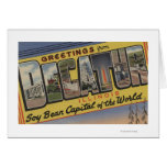 Decatur, Illinois (Soy Bean Capital) Greeting Card