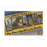 Decatur, Illinois (Soy Bean Capital) Post Cards