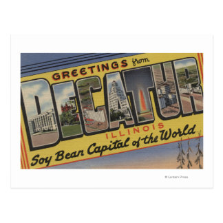Decatur, Illinois (Soy Bean Capital) Postcard