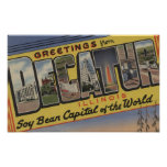 Decatur, Illinois (Soy Bean Capital) Posters