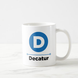Decatur line coffee mug