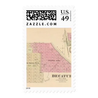 Decatur, Nebraska Postage Stamps