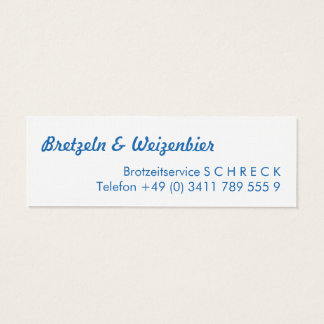 Decay Bavaria graph IC Mini Business Card