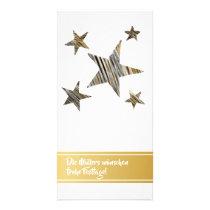 Decay black golden handdrawn minimum card