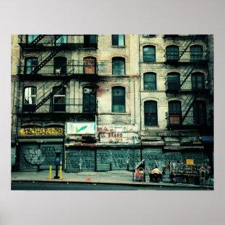 Decay on Canal Street, Medium print