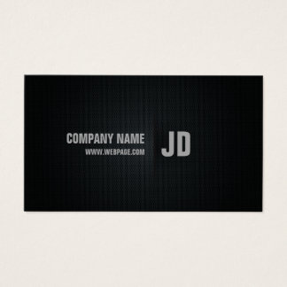 Decay Professional Blackish Business Card