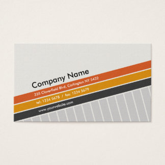 Decay Professional Business Card hero in Gray and