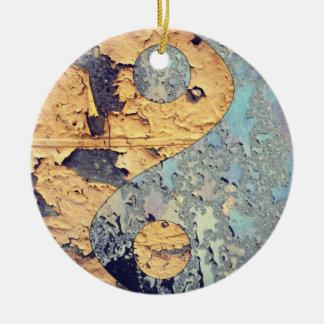 Decay Yin Yang Ornament