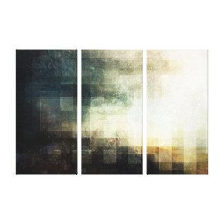 Decayed Lands Canvas Prints