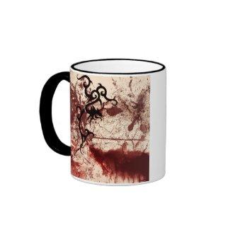 Decayed Tribal gothic mug