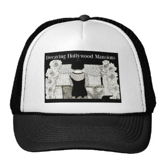 Decaying Hollywood Mansions Hats