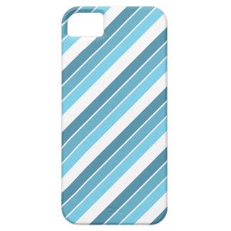 Decays blue stripes pattern Design phone case
