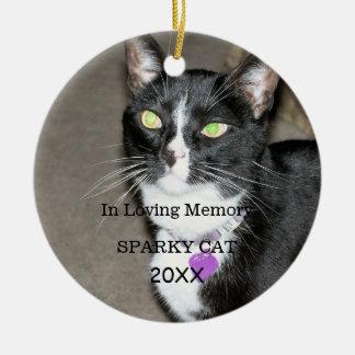 Deceased Pet Memorial Ceramic Ornament