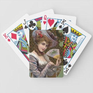 Deceivingly Demure  Lady Fashion Poker Deck Cards