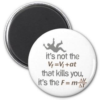 deceleration 2 inch round magnet
