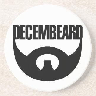 Decembeard Drink Coaster