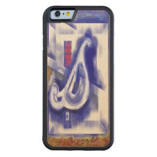 December 12 carved maple iPhone 6 bumper case