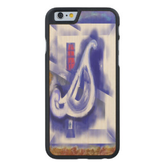 December 12 carved maple iPhone 6 slim case
