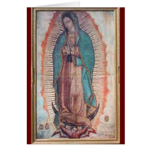 December 12   Our Lady of Guadalupe Greeting Cards