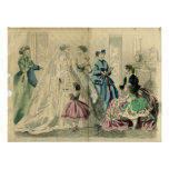 December 1866 Fashion Plate Poster