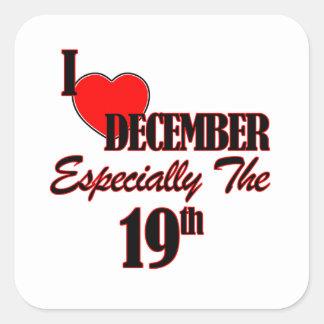 december 19 designs square stickers