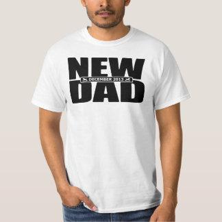 December 2013 New Dad T Shirt