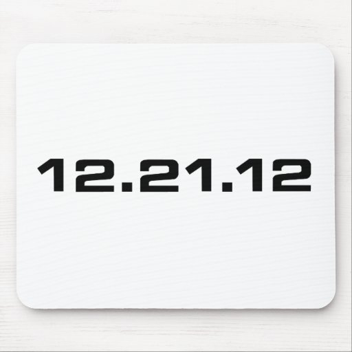 December 21, 2012 Clothing Mousepad