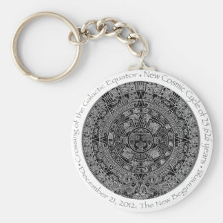 December 21, 2012 Mayan Calendar commemorative Keychain