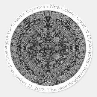 December 21, 2012 Mayan Calendar commemorative Sticker