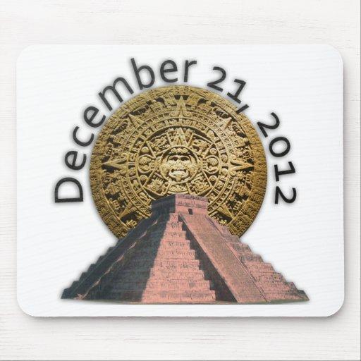 December 21, 2012 Mayan Calendar Mouse Pad