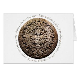 December 21, 2012 Mayan commemorative memorabilia Card