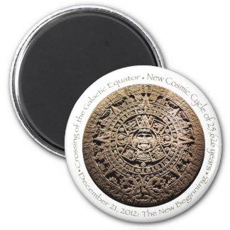 December 21, 2012 Mayan commemorative memorabilia Magnet
